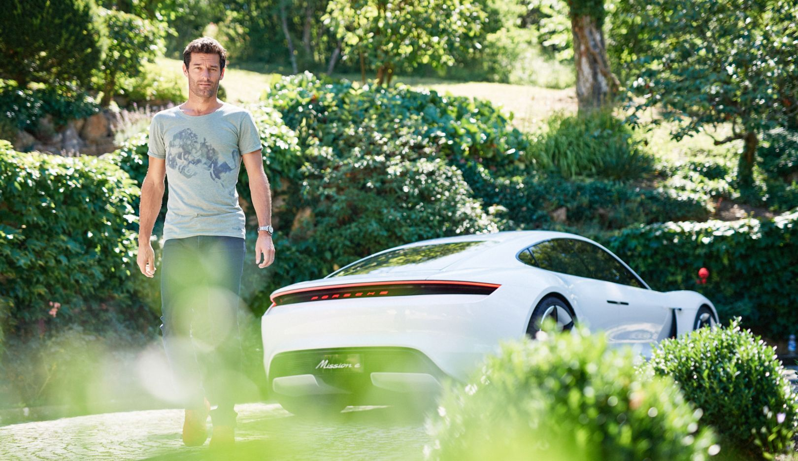 Mark Webber, Edison Magazine, 2017, Porsche AG