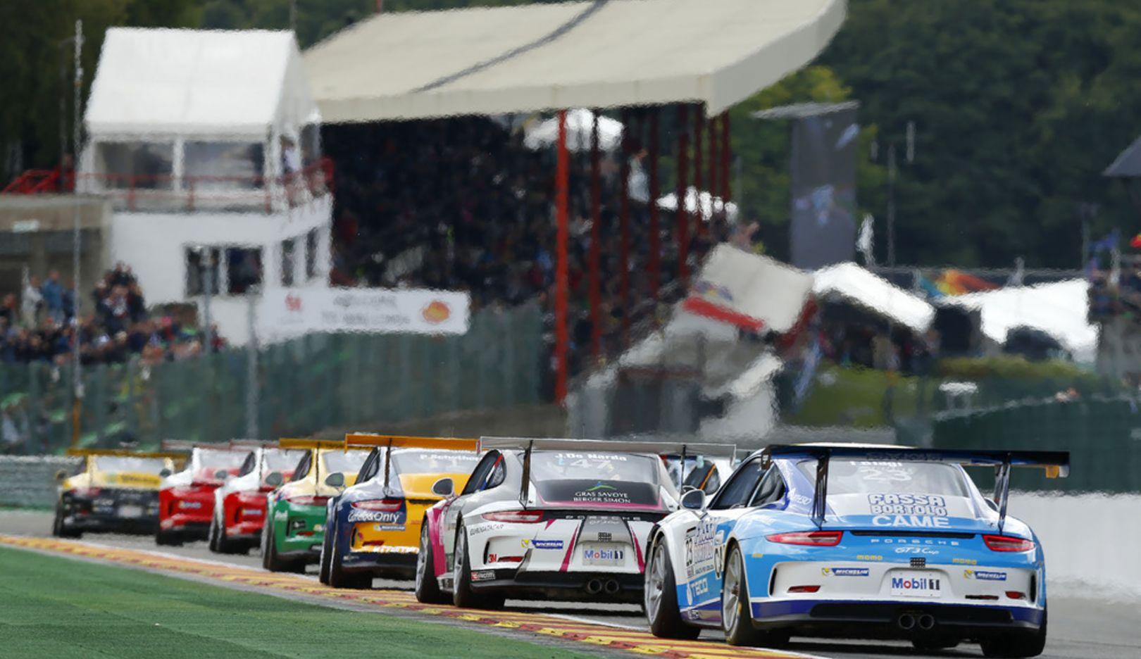 Porsche Mobil 1 Super Cup, Spa-Franchorchamps, 2014, Porsche AG