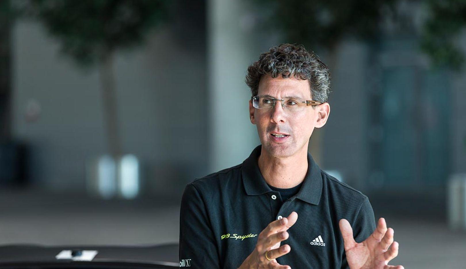 Dr. Frank-Steffen Walliser, Vice President of Porsche Motorsport, 2014, Porsche AG