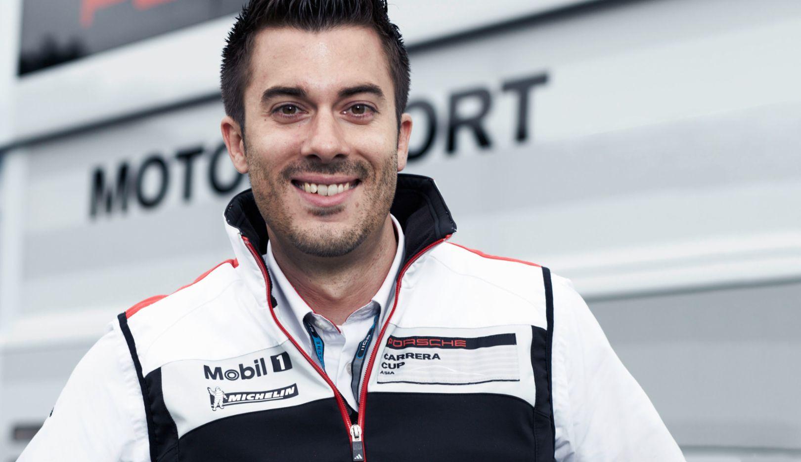 Oliver Schwab, Manager des Porsche Mobil 1 Supercup, 2014, Porsche AG
