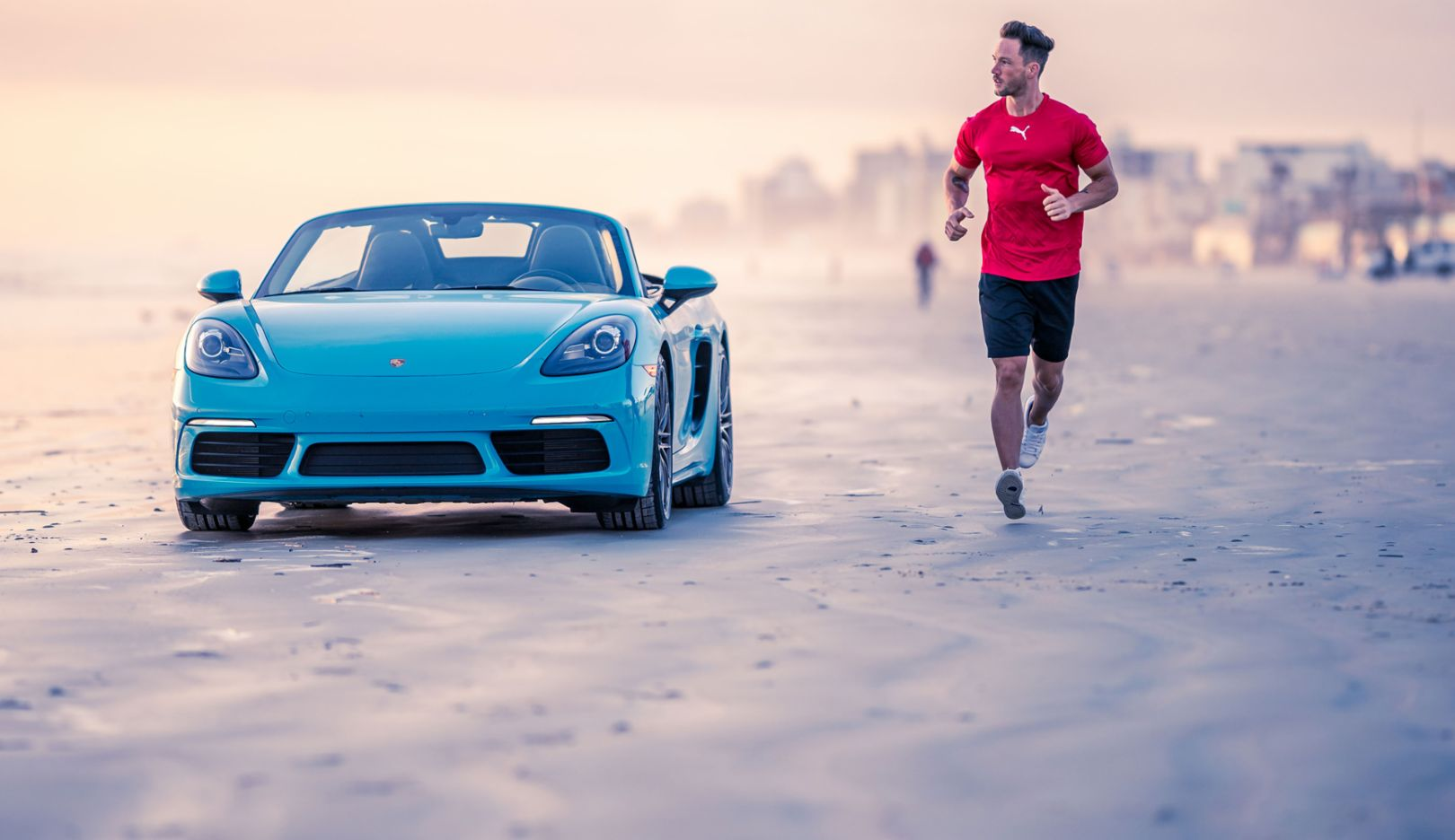 Daniel Fuchs aka Magic Fox, Blogger und Influencer, 718 Boxster S, Daytona, 2018, Porsche AG