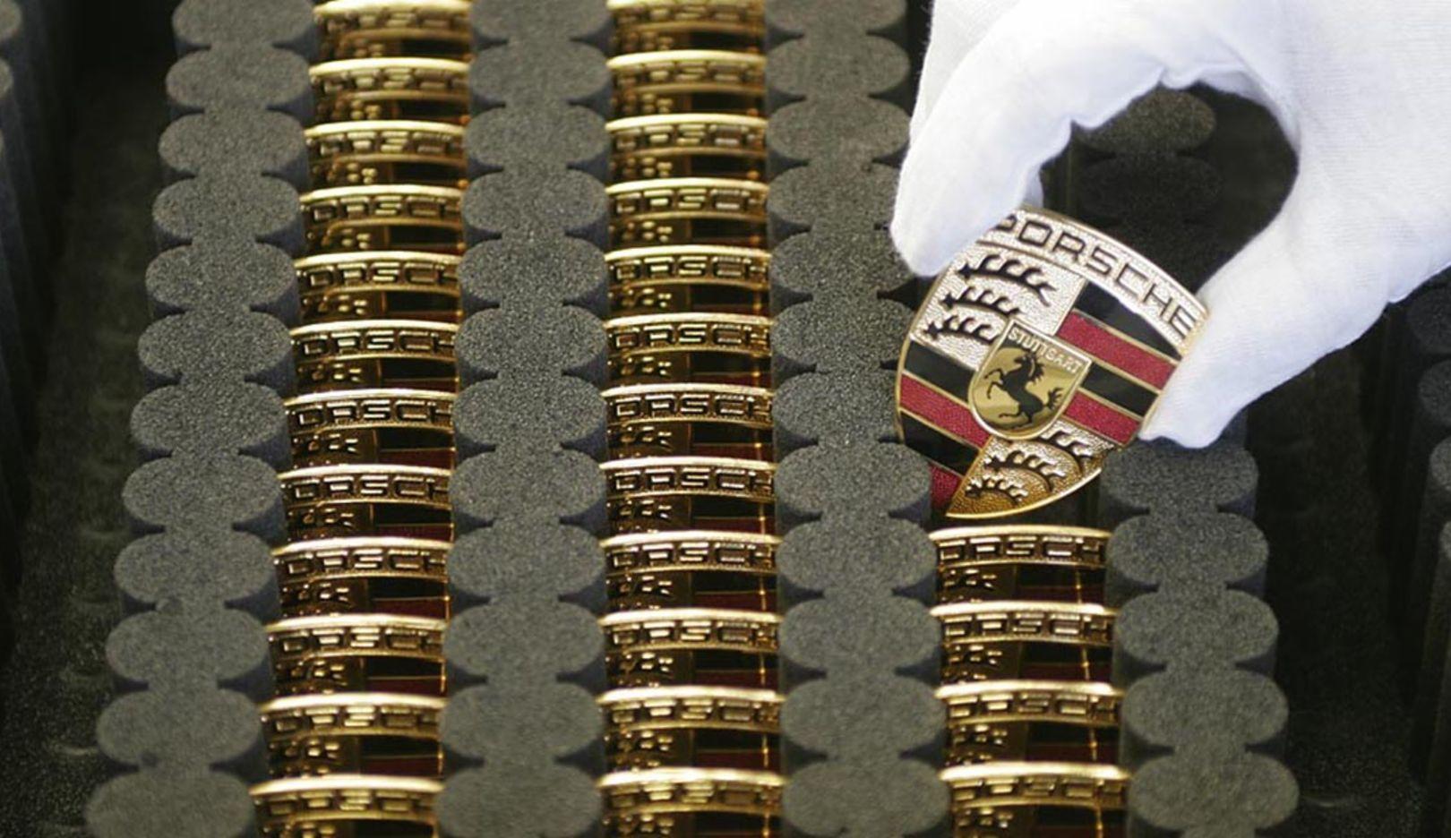Emblem, 2014, Porsche AG