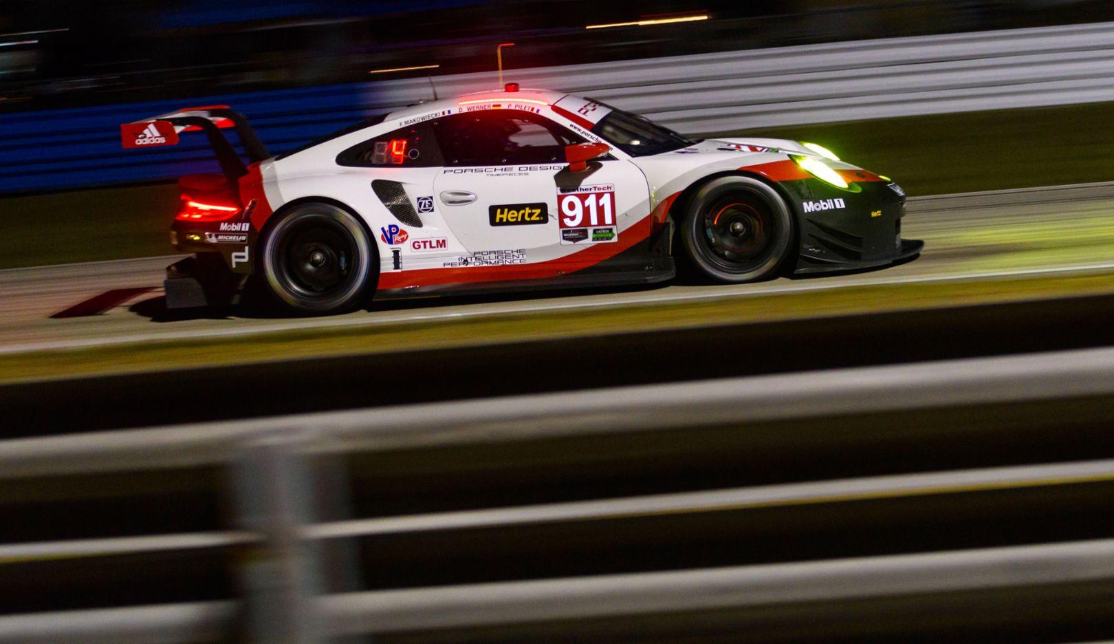 911 RSR, IMSA SportsCar Championship, Sebring, 2017, Porsche AG