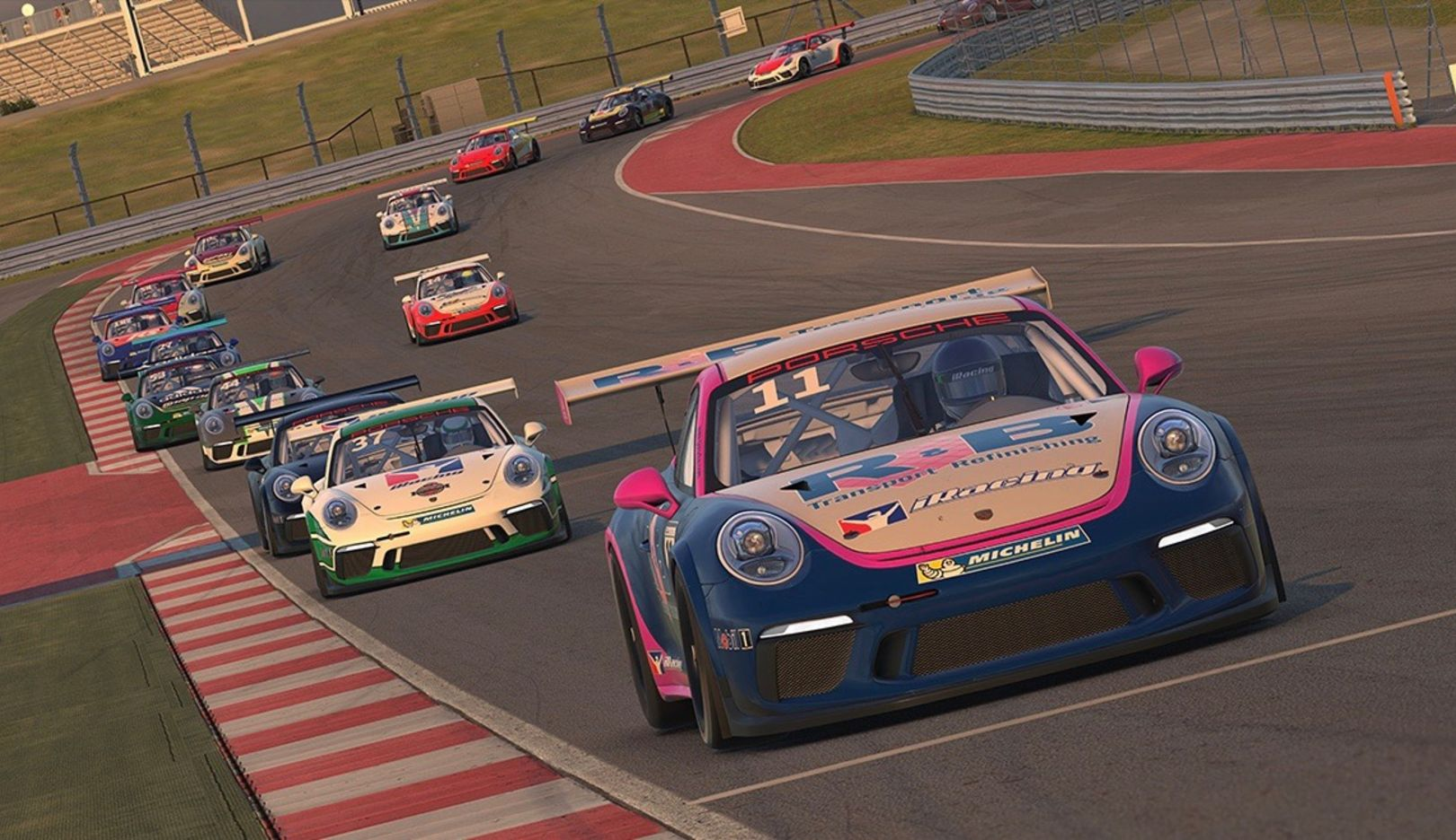 911 GT3 Cup, Porsche iRacing World Championship Series, 2018, Porsche AG