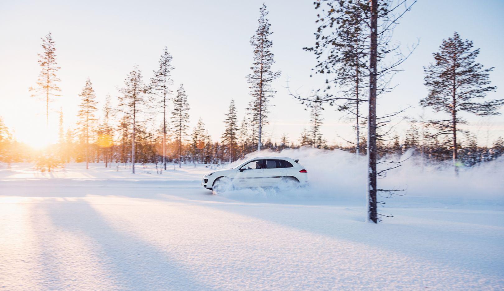 Cayenne S, Porsche Driving Experience Winter, Levi, Finnland, 2015, Porsche AG