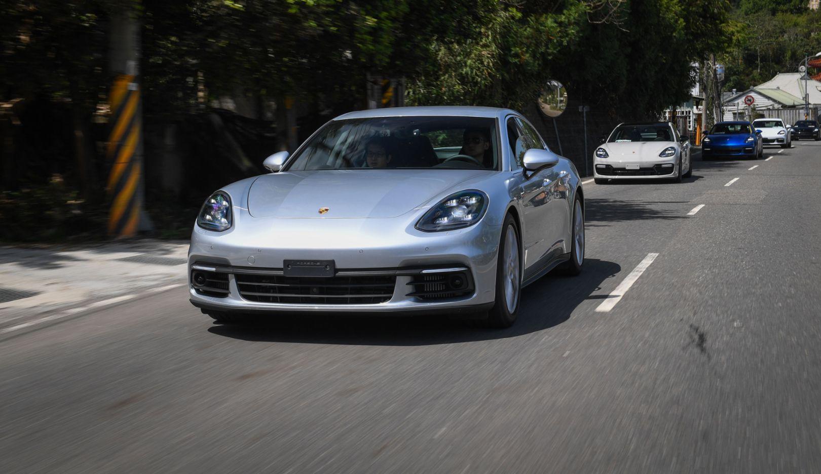 Panamera, Two Trails Media Drive, Taiwan, 2017, Porsche AG