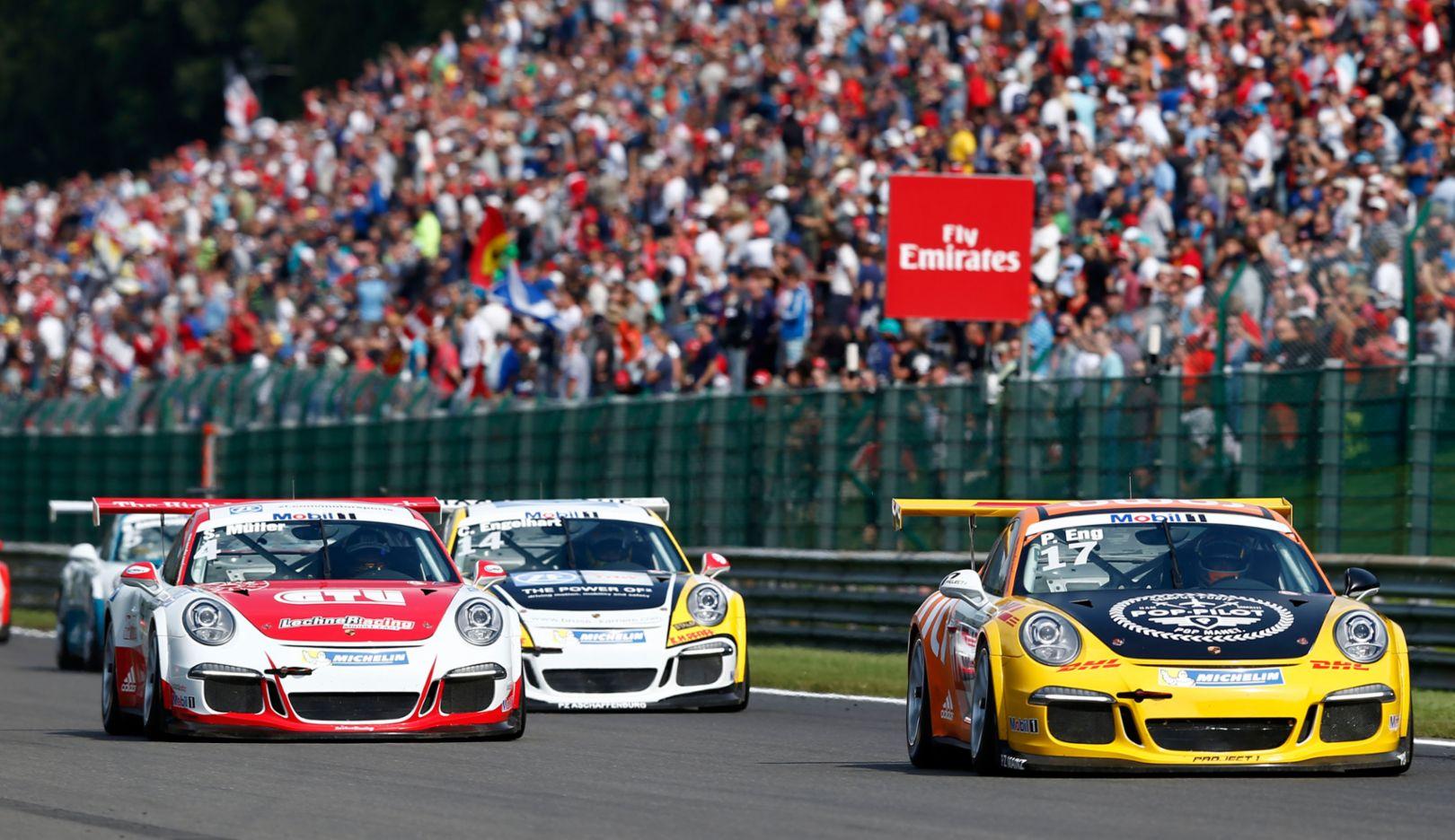 Start, Porsche Mobil 1 Supercup, Spa 2015, Porsche AG