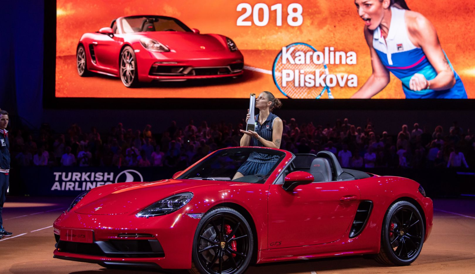 Karolina Pliskova, Porsche Tennis Grand Prix 2018, Finale, Stuttgart, 2018, Porsche AG