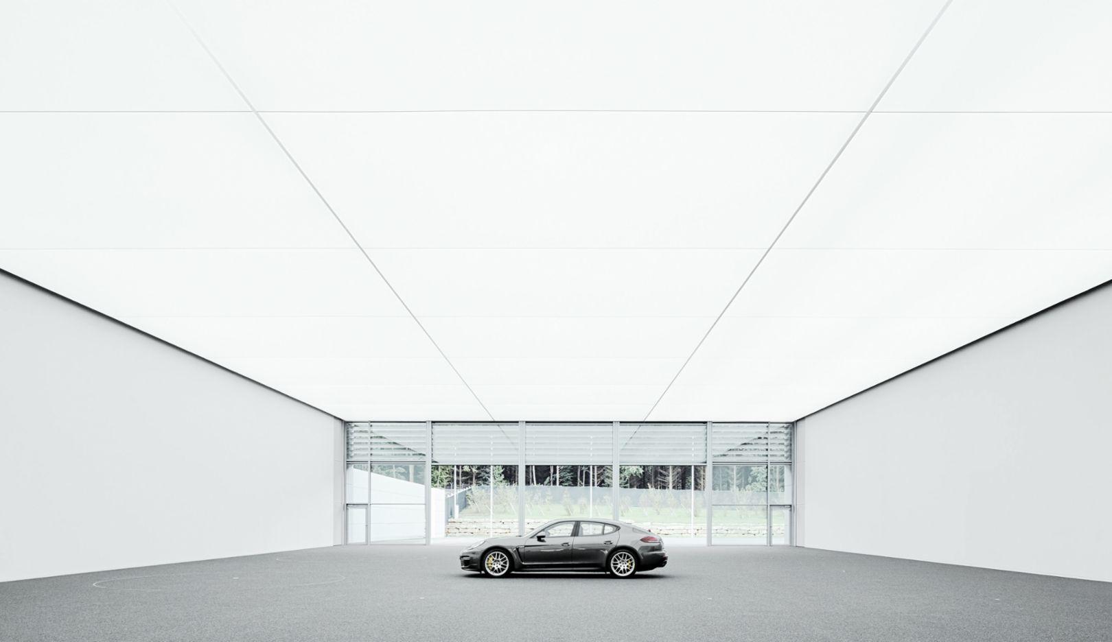 Panamera Turbo S Executive, Entwicklungszentrum, Weissach, 2014, Porsche AG