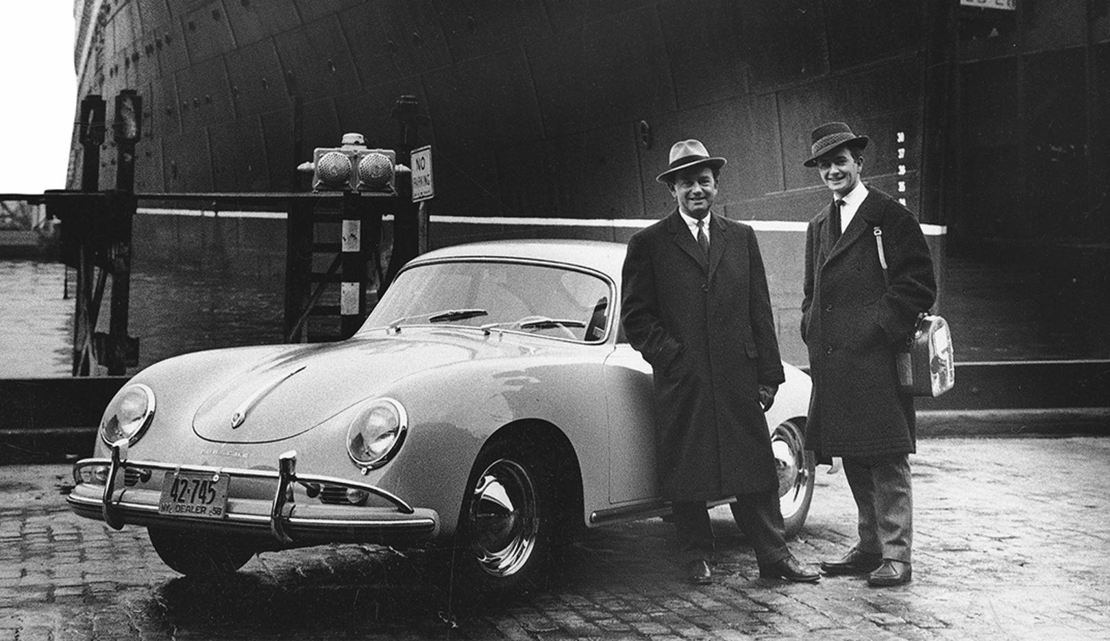 Ferry Porsche, Ferdinand Alexander Porsche, 356 A Coupé, New York, USA, 1958, Porsche AG