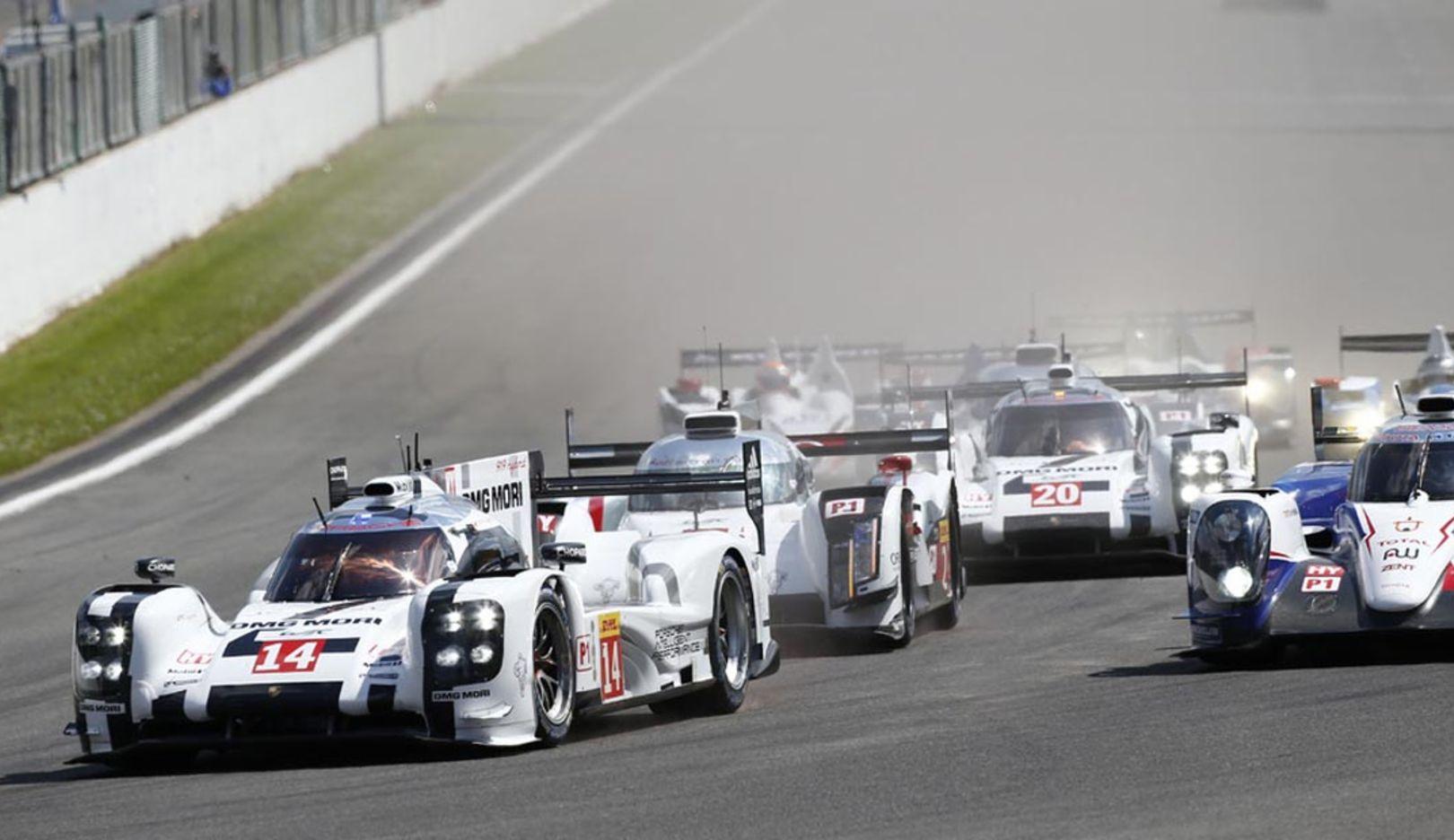 SPA Rennen, 2014, Porsche AG
