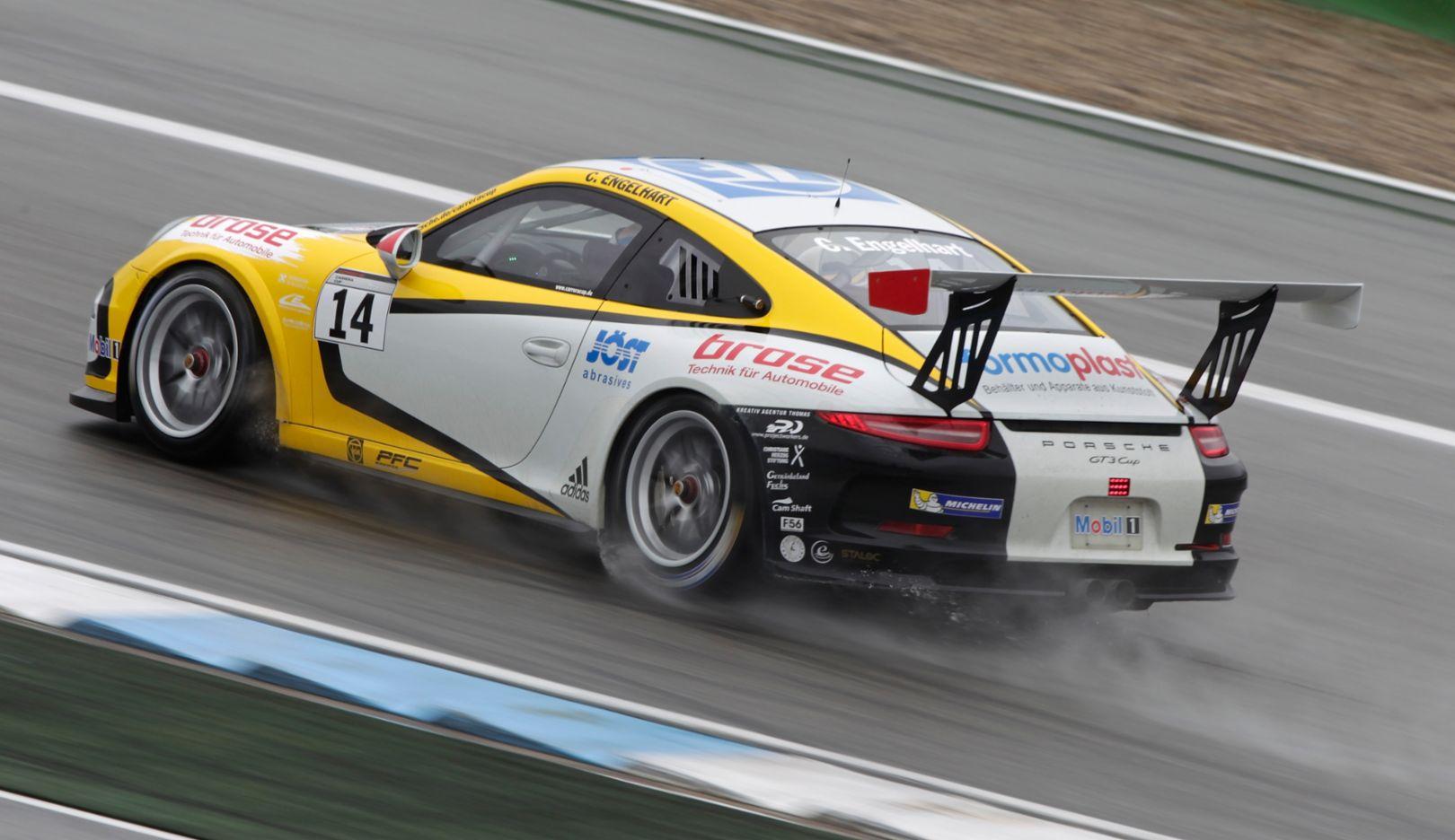 Christian Engelhart, Rennfahrer, Hockenheimring 2015, Porsche AG