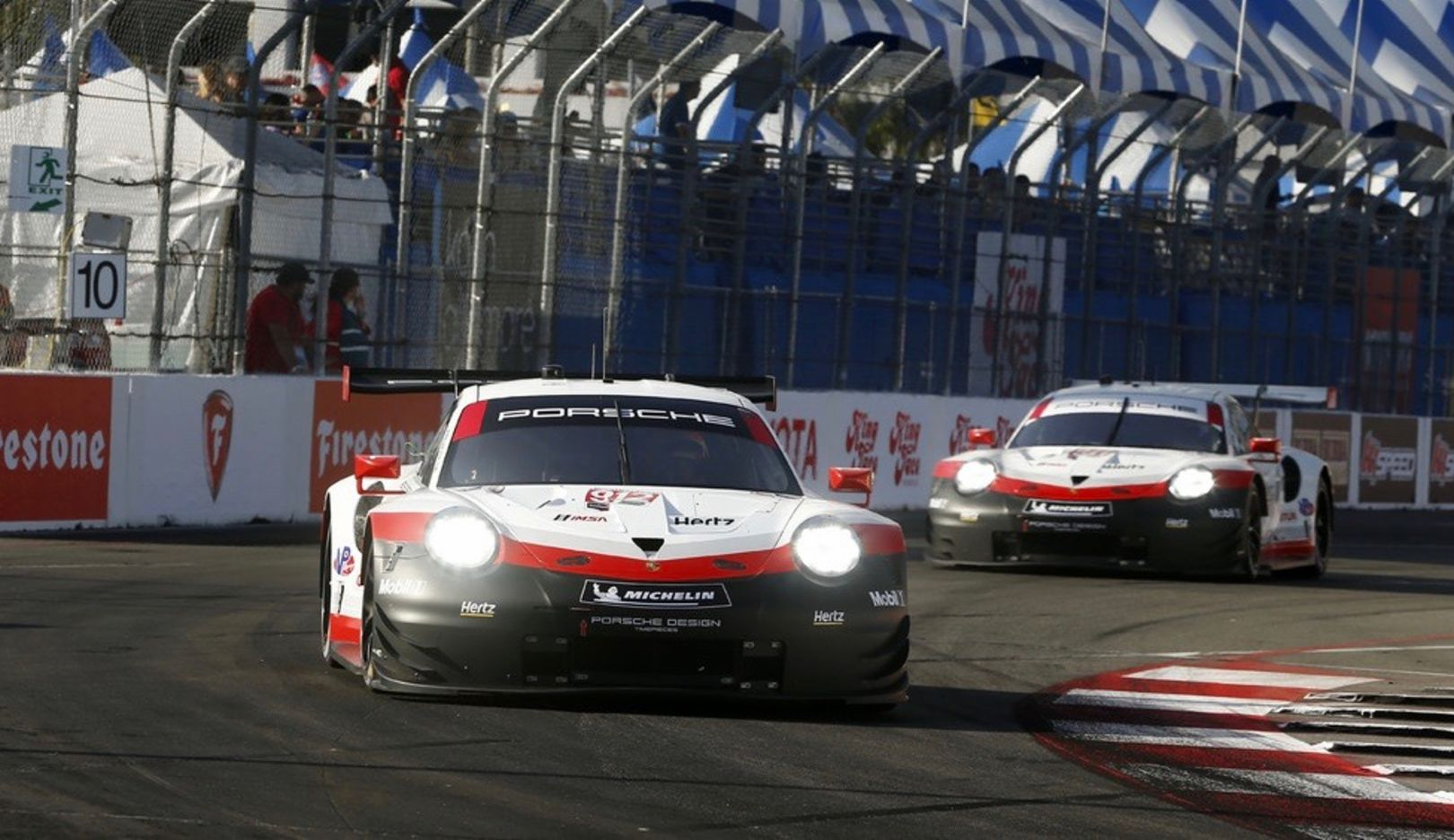 911 RSR, чемпионат IMSA WeatherTech SportsCar Championship, Лонг-Бич, 2018, Porsche AG