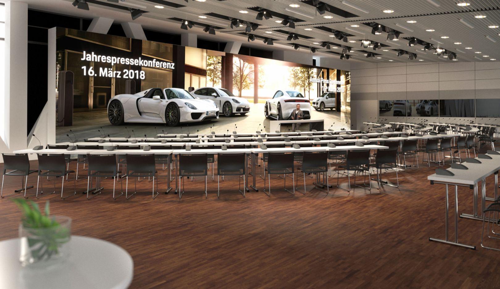 Annual press conference, Stuttgart, 2018, Porsche AG