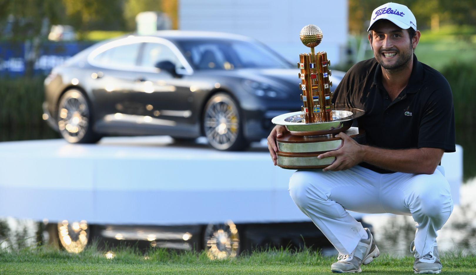 Alexander Levy (FR), Golfer, Porsche European Open, Bad Griesbach, 2016, Porsche AG