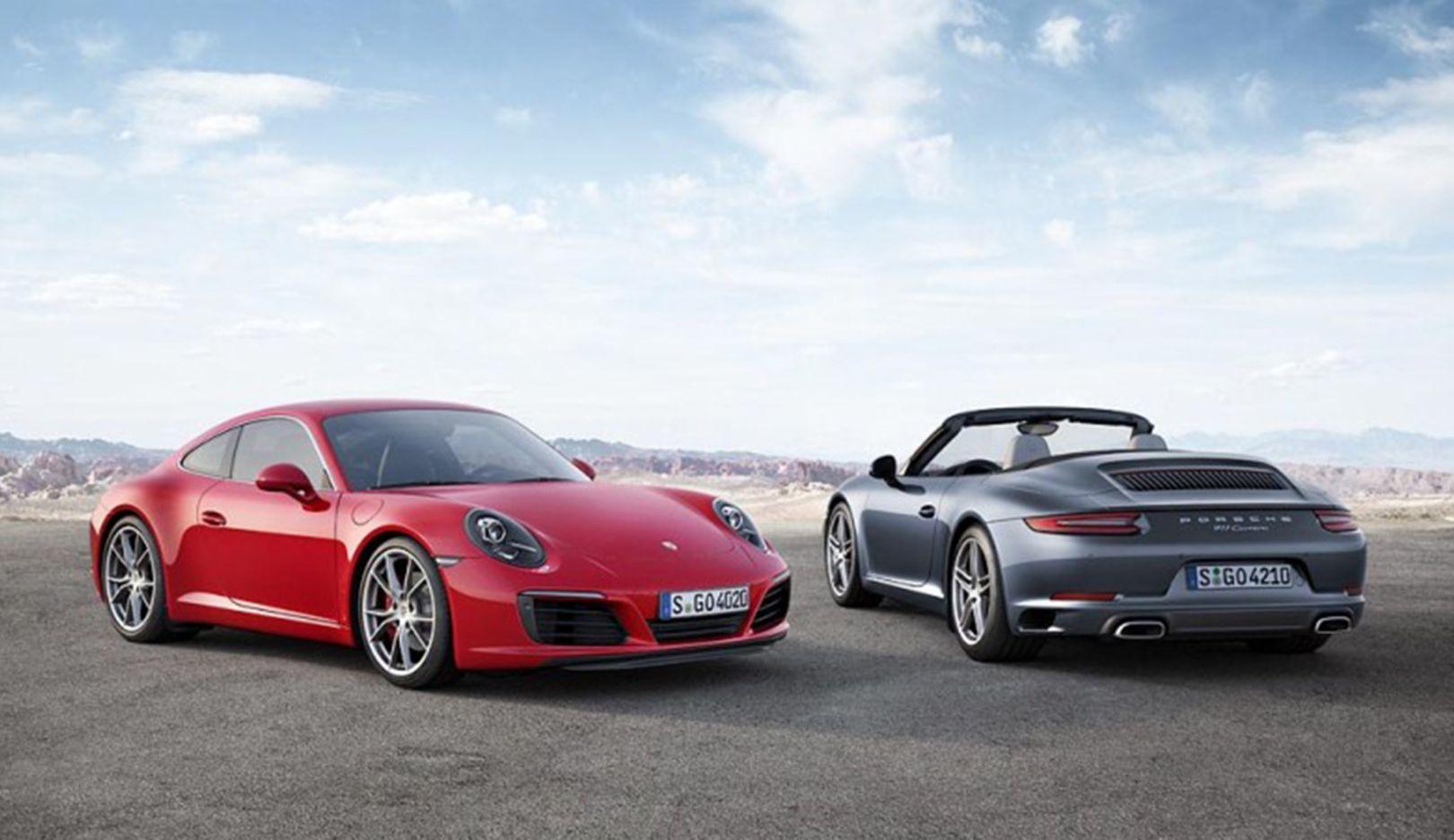 New Porsche 911 >> The New Porsche 911 Carrera