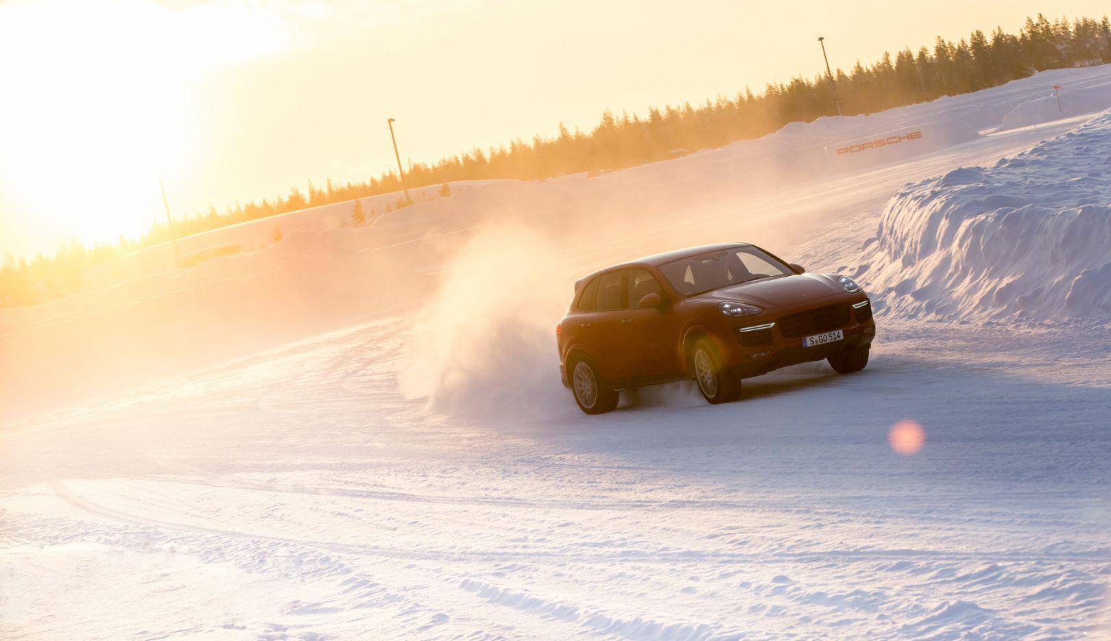 Cayenne Turbo S, Skelleftea, Schweden, 2015, Porsche AG