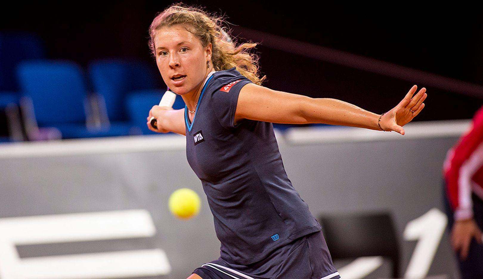 Anna-Lena Friedsam, Tennisspielerin, Porsche Talentteam Deutschland, Porsche Tennis Grand Prix, Porsche-Arena Stuttgart, 2014, Porsche AG