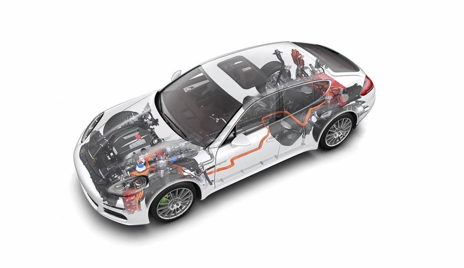 Panamera S E-Hybrid, phantom, 2014, Porsche AG