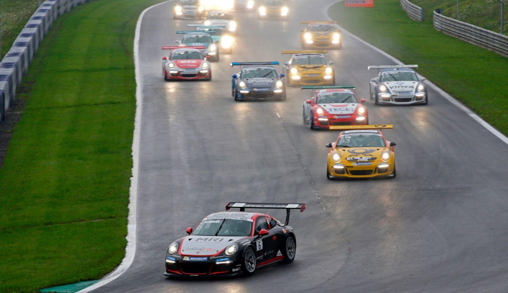 Jeffrey Schmidt, Porsche Carrera Cup Deutschland, Spielberg 2015, Porsche AG