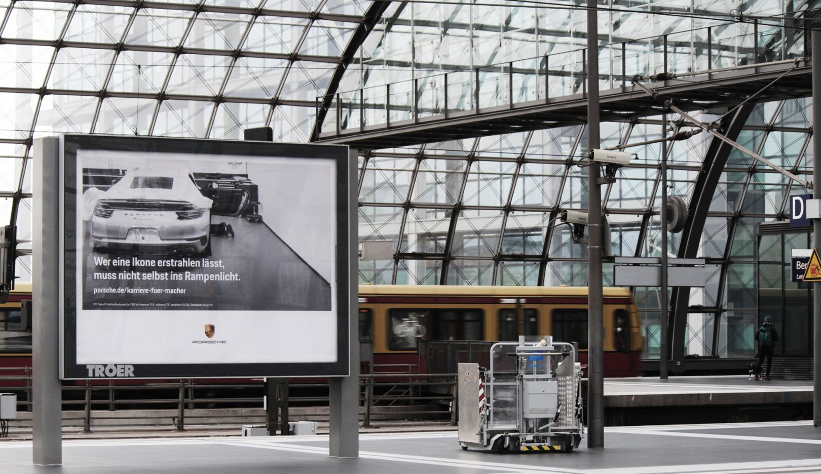 Employer Branding Kampagne, Berlin, 2018, Porsche AG
