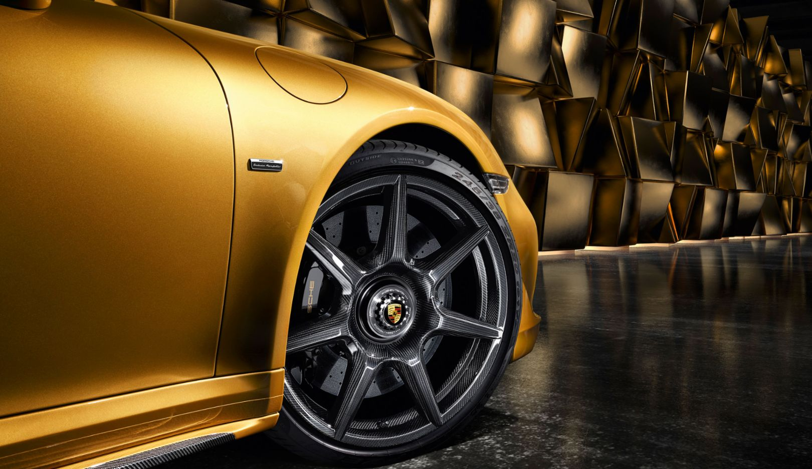 Porsche 20-inch 911 Turbo Carbon Wheel, 911 Turbo S Exclusive Series, 2017, Porsche AG