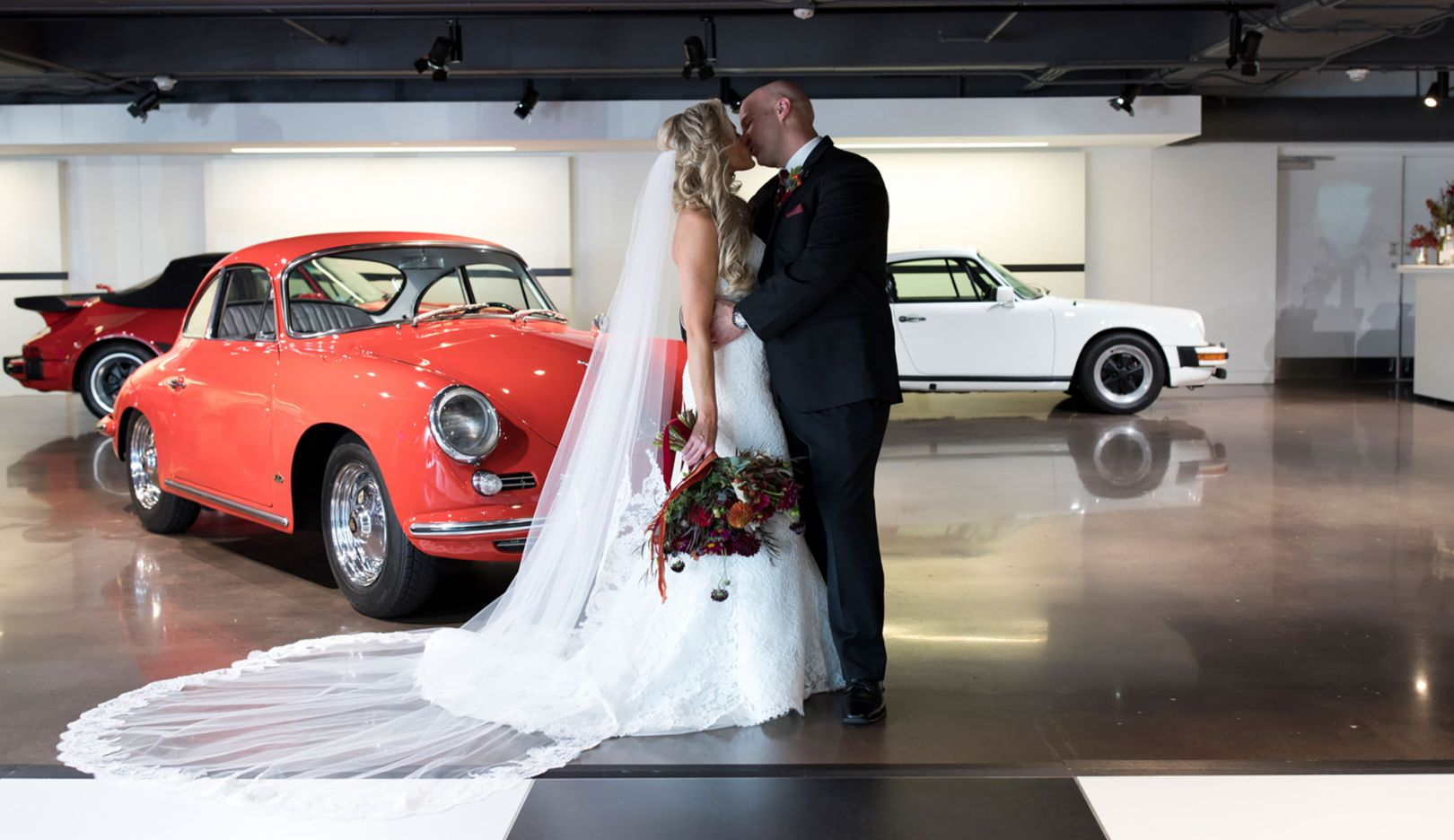 "A Porsche Wedding: ""I do"" at 70mph"