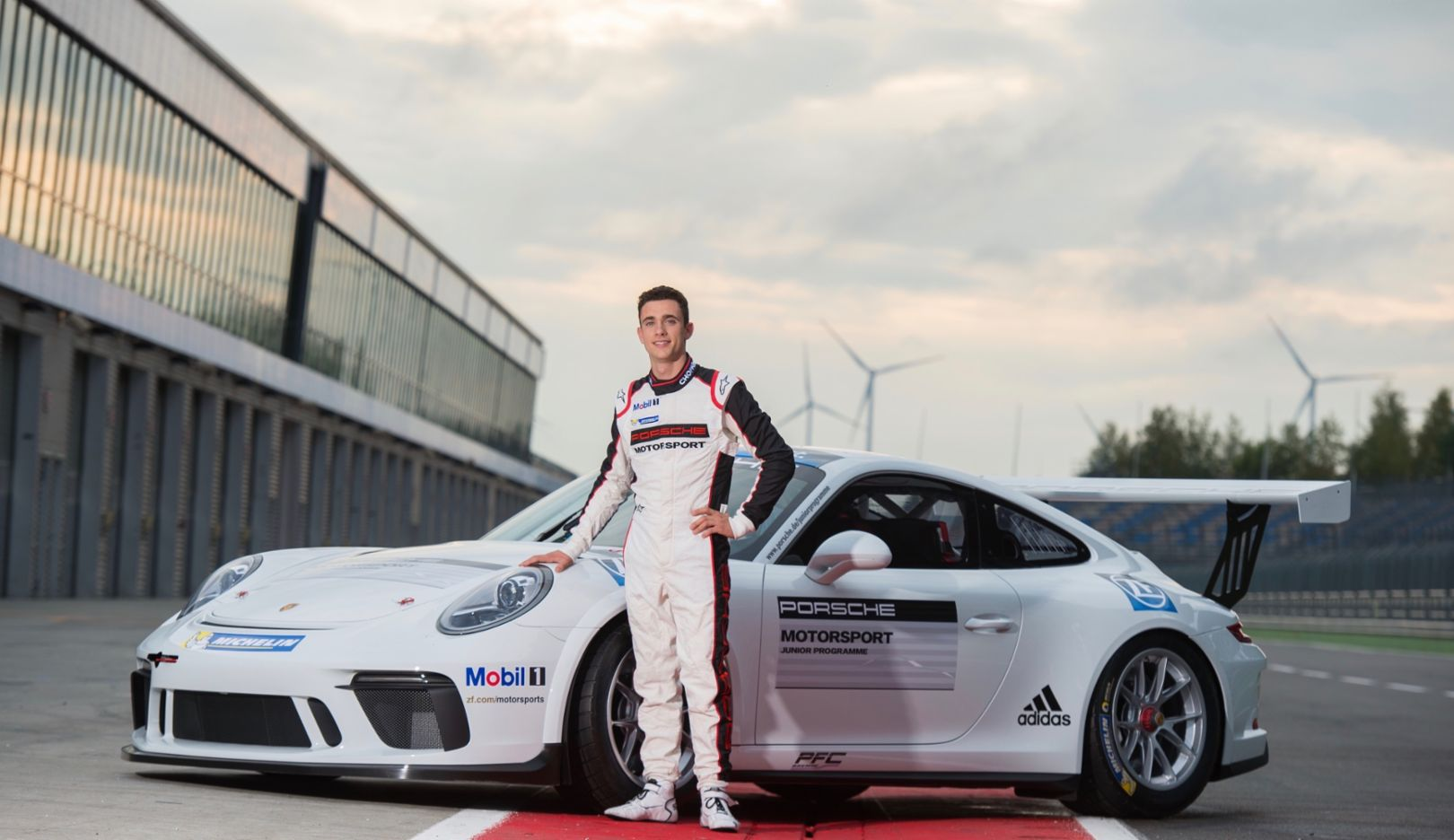 Julien Andlauer, Porsche Junior, 911 GT3 Cup, 2017, Porsche AG