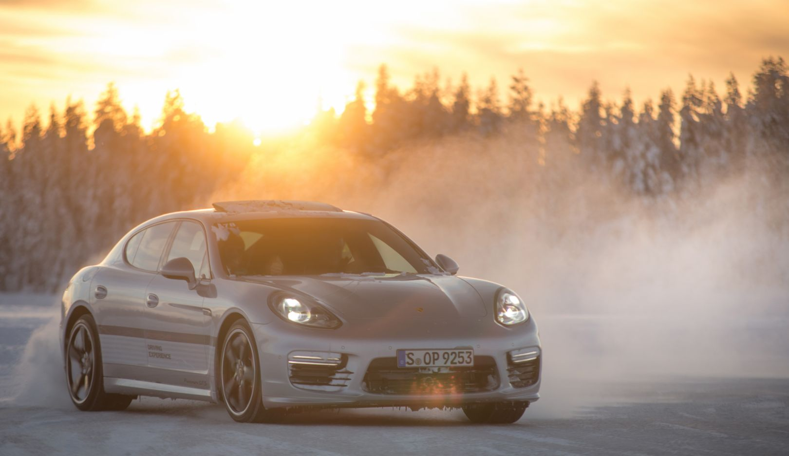 Panamera, Porsche Driving Experience, Ice Force, Levi, Finland, 2015, Porsche AG