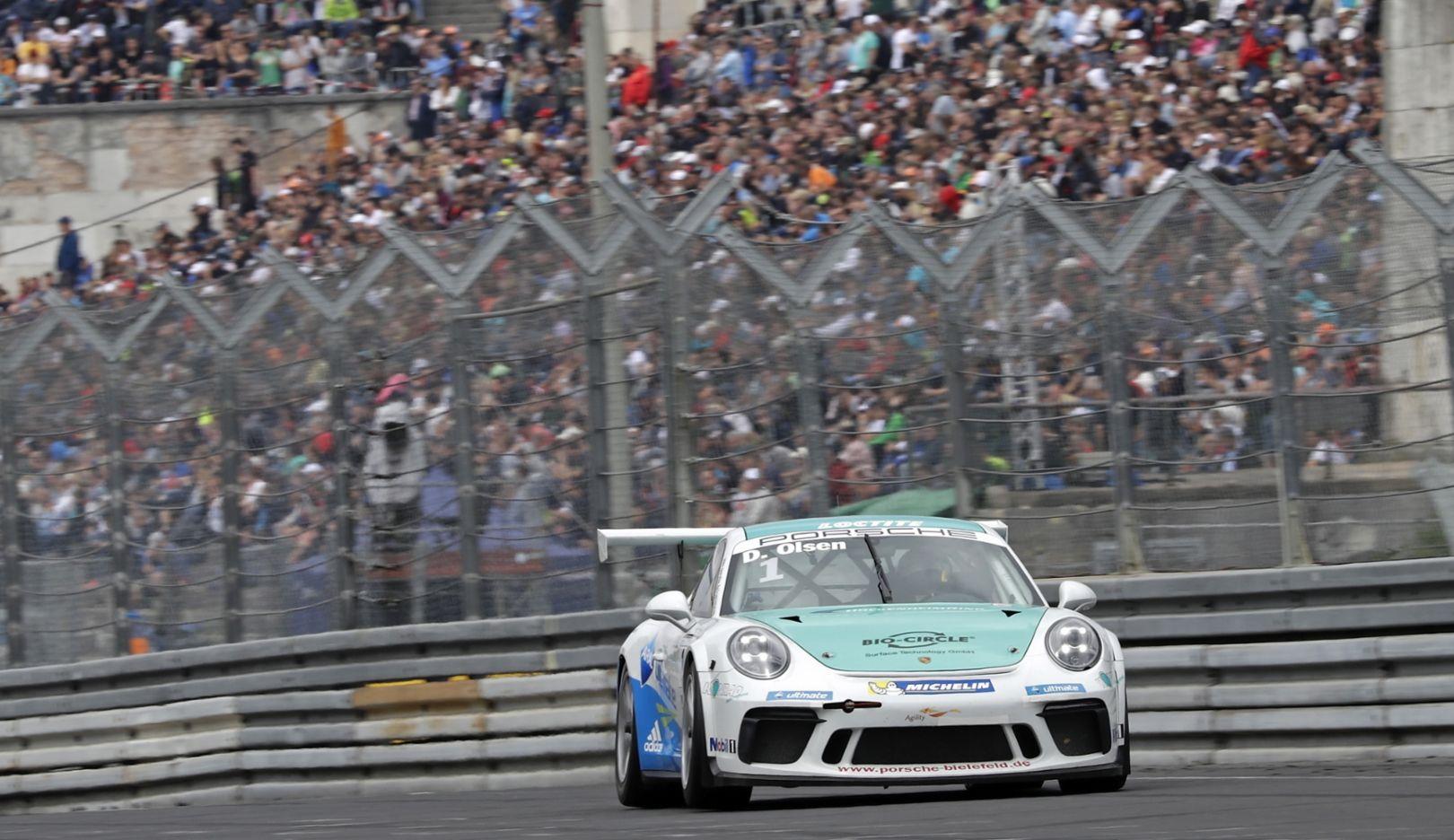 GT3 Cup, Porsche Carrera Cup Deutschland, Race 7, Norisring 2017, Porsche AG