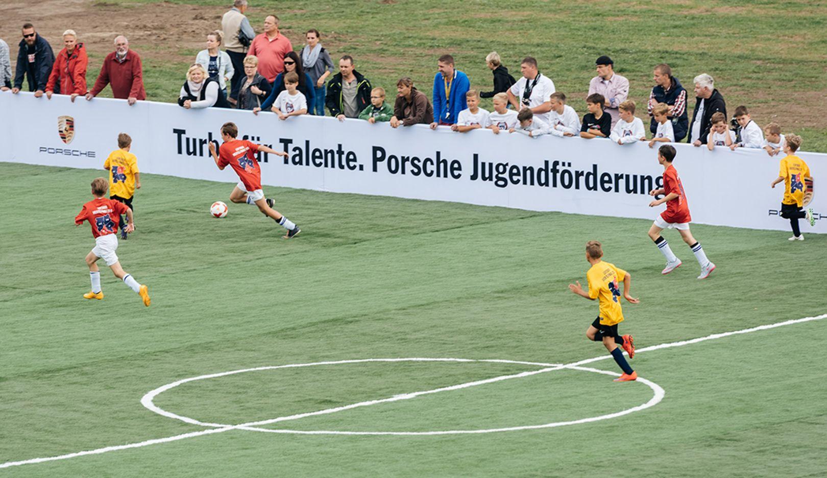 Leipziger Viertelfinale, 2015, Porsche AG