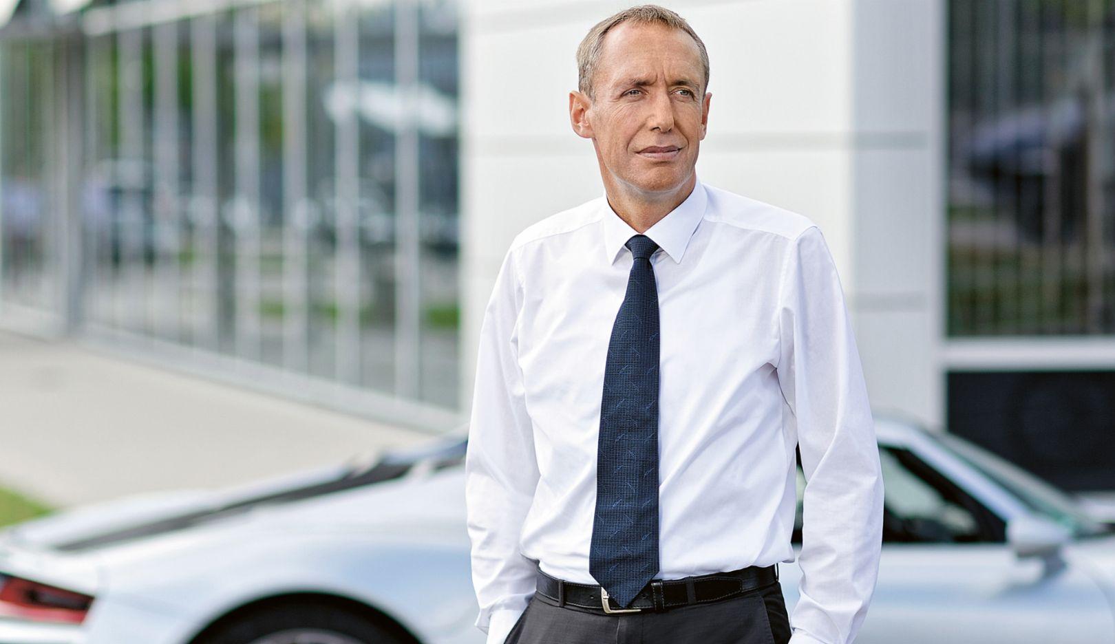 Dirk Lappe, Technischer Geschäftsführer von Porsche Engineering, 2015, Porsche AG