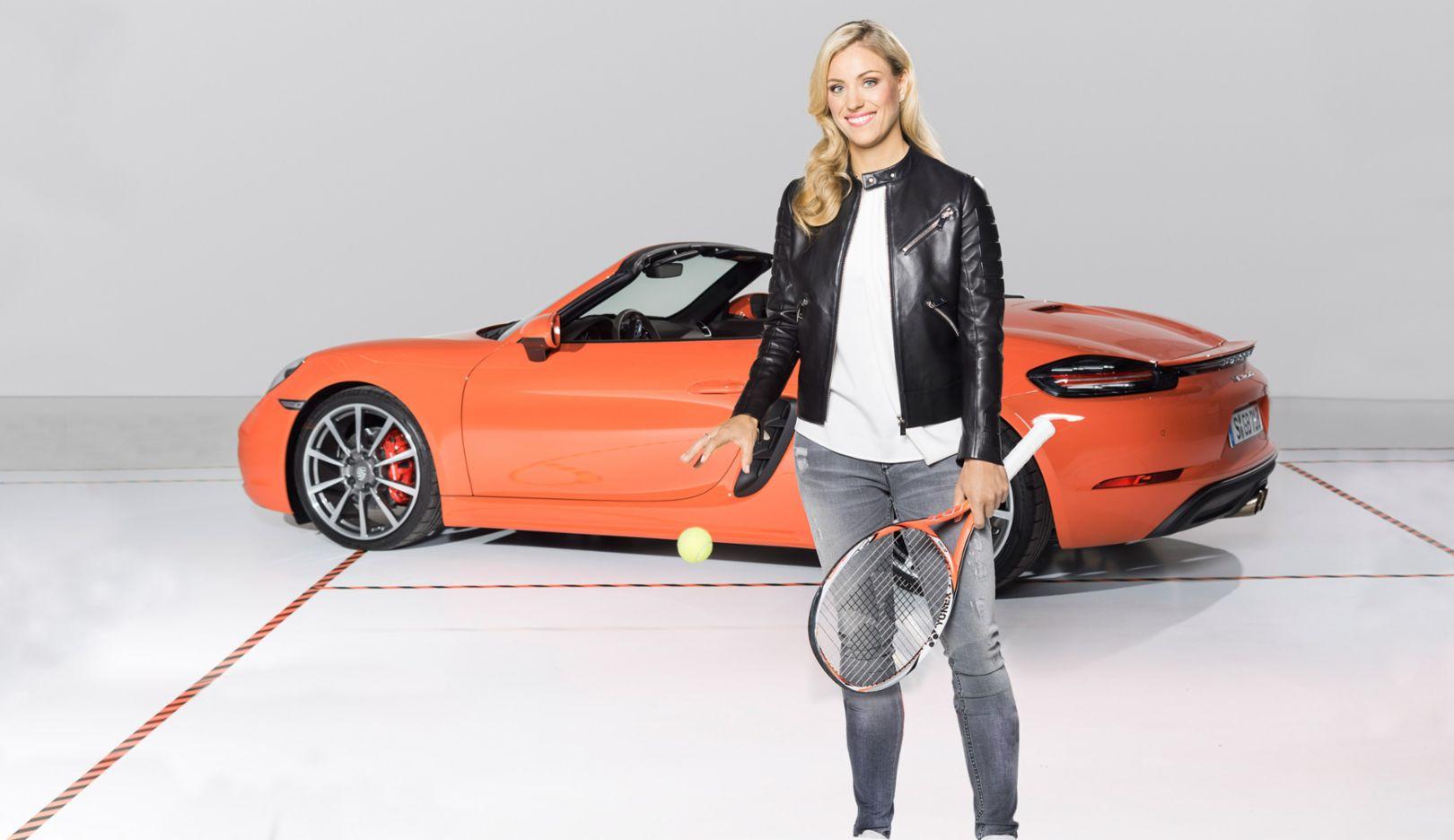 Angelique Kerber, Porsche Markenbotschafterin, 2016, Porsche AG