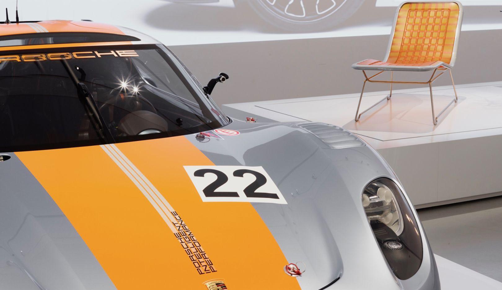 """Ausstellung """"Driven by German Design"""", Qatar Museum, 2017, Porsche AG"""