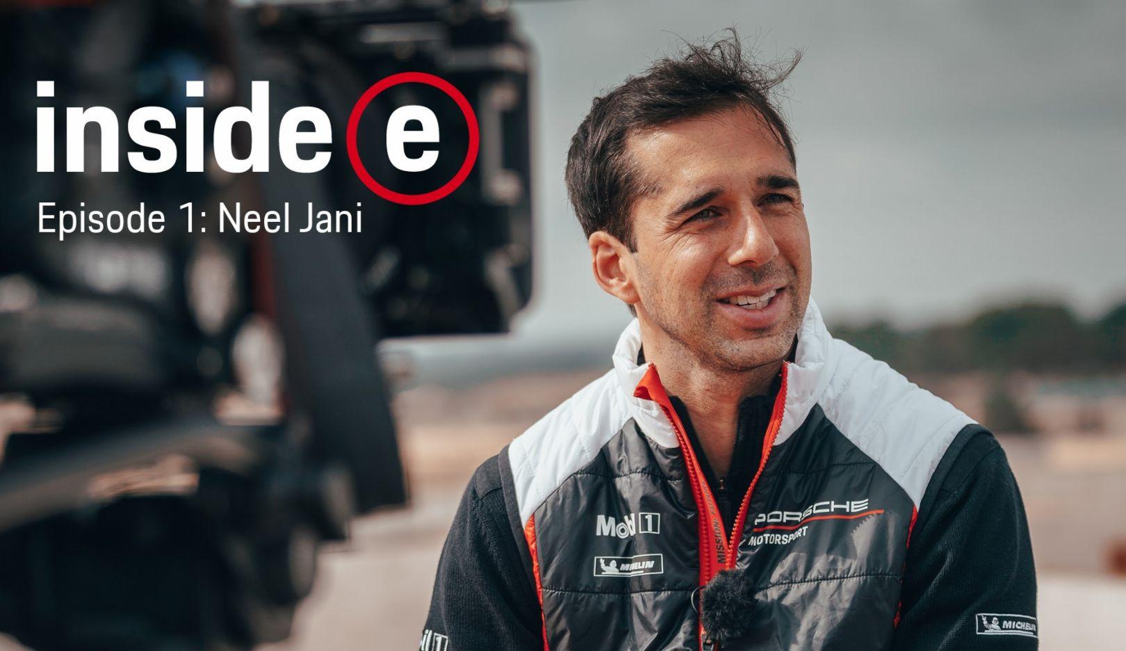 """""""Inside E"""", Porsche Formula E Podcast, Episode 1, 2019, Porsche AG"""