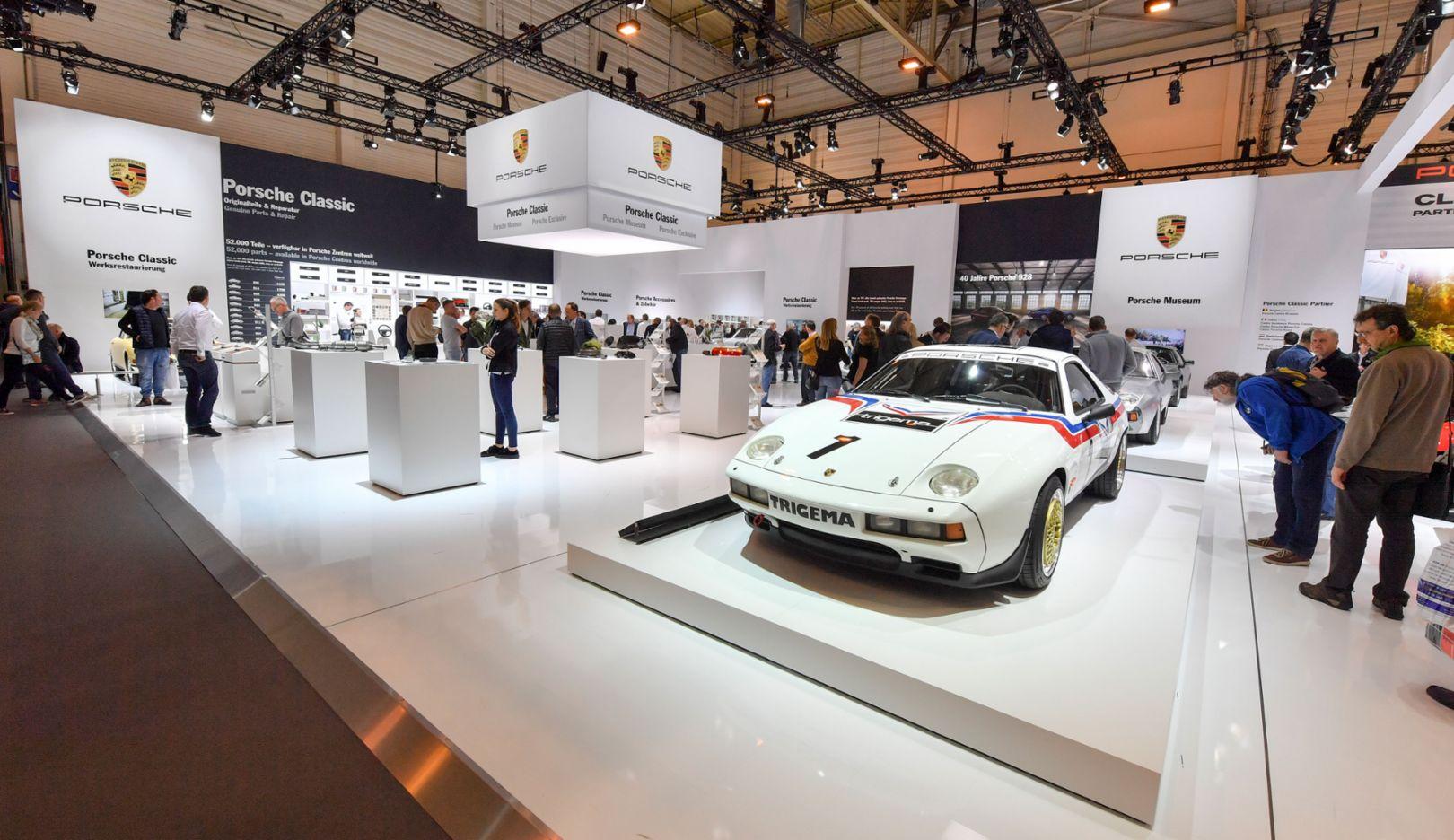 Techno Classica, Essen, 2017, Porsche AG