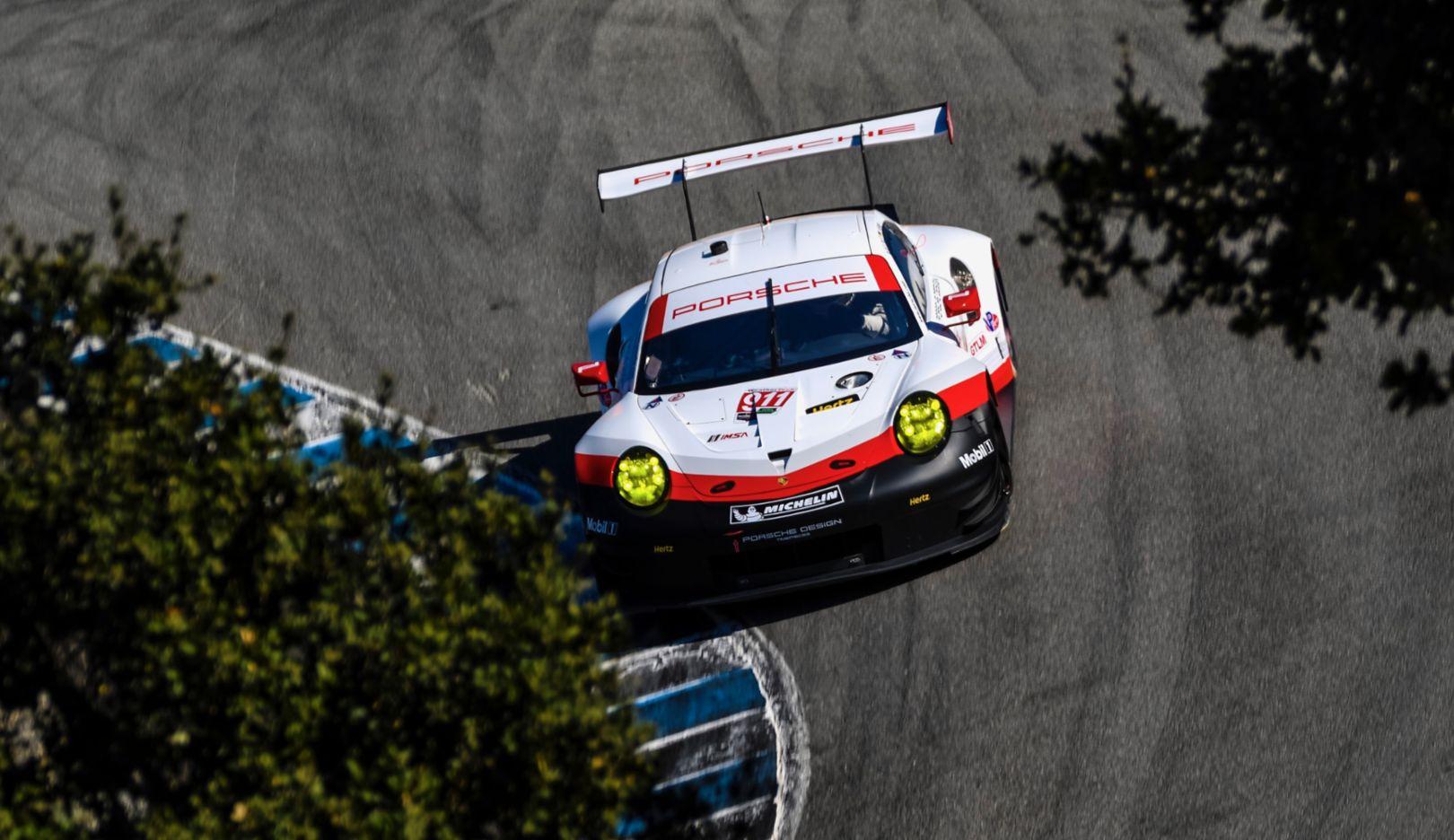 911 RSR, Qualifying, IMSA WeatherTech SportsCar Championship, Laguna Seca/USA, 2017, Porsche AG
