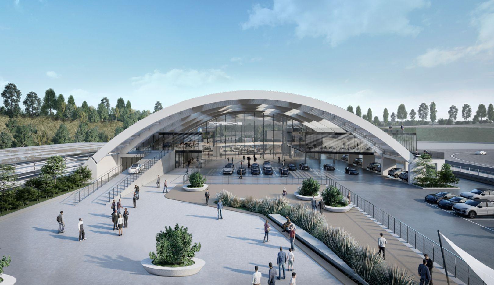 Porsche Experience Center >> Porsche Is Building An Ultra Modern Experience Center In Italy