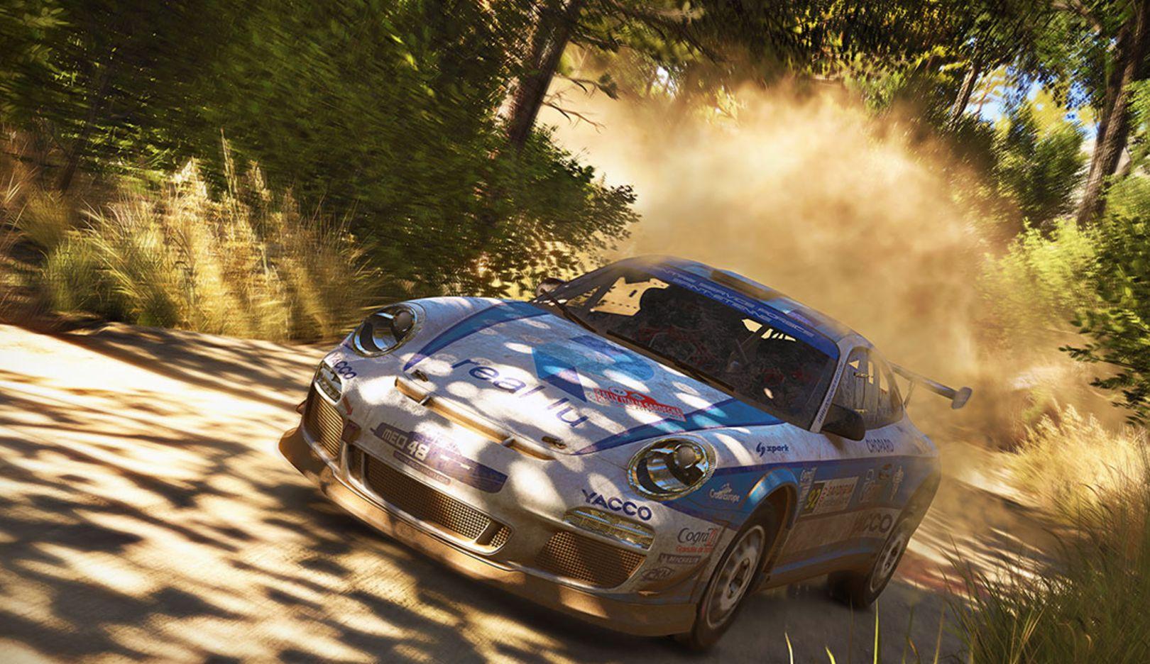 "911 GT3 RS RGT, video game ""WRC7"", 2017, Porsche AG"