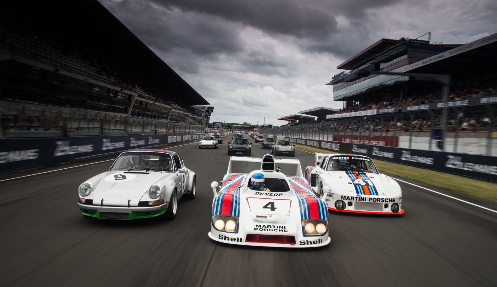 Le Mans Classic, 2014, Porsche AG