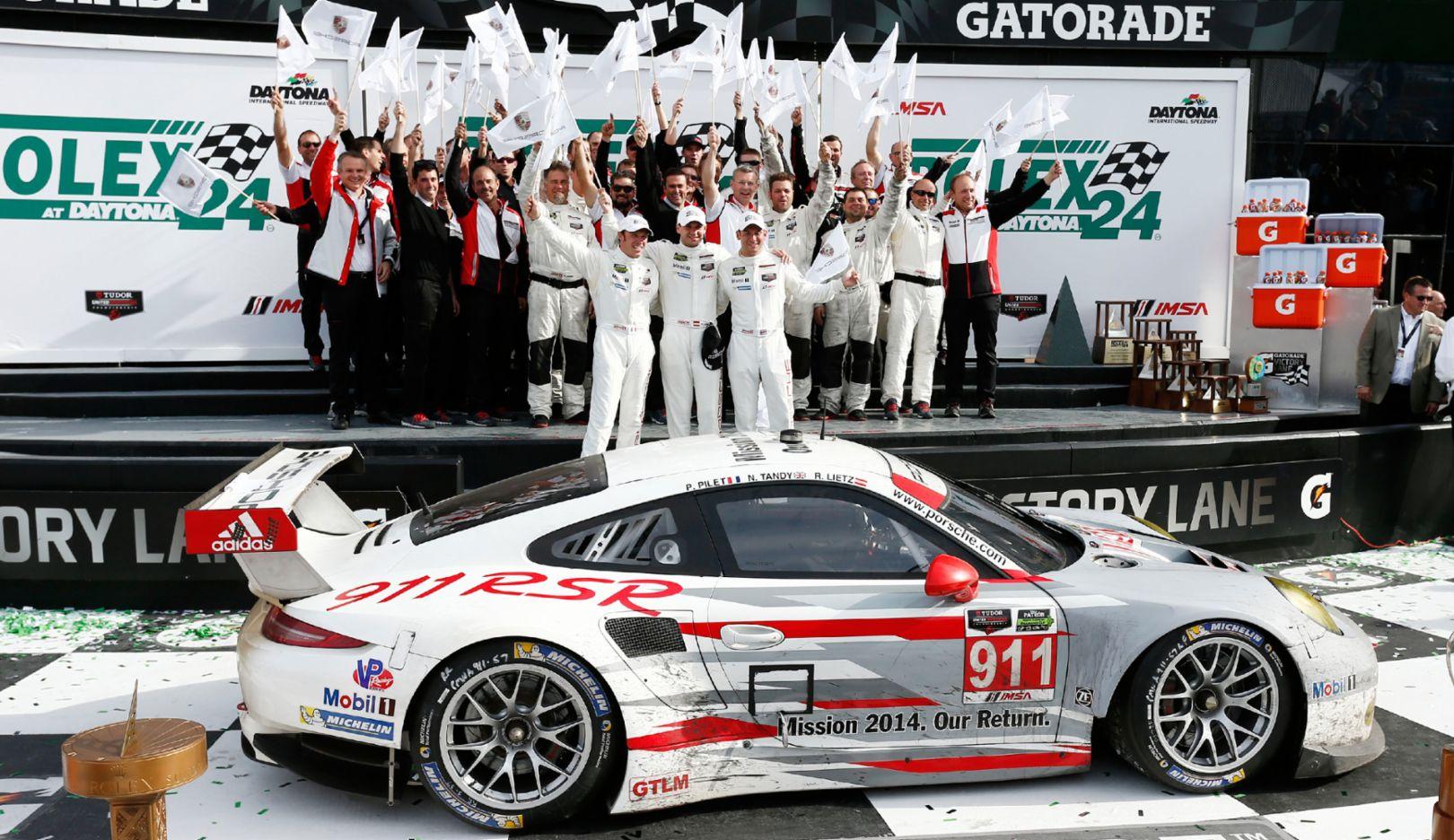 Porsche 911 RSR, Daytona, 2016, Porsche AG