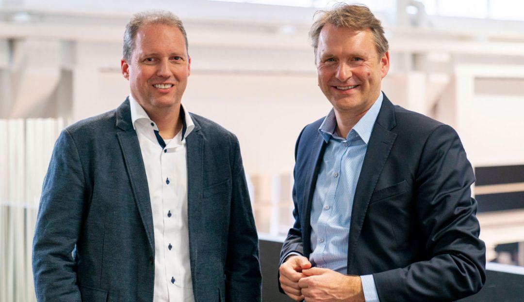 Stefan Zerweck, Mattias Ulbrich, 2019, Porsche AG