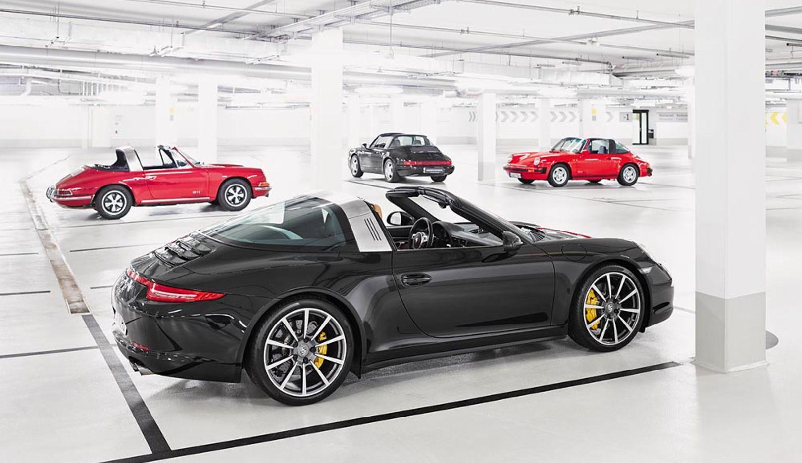 911 Targa, Porsche AG