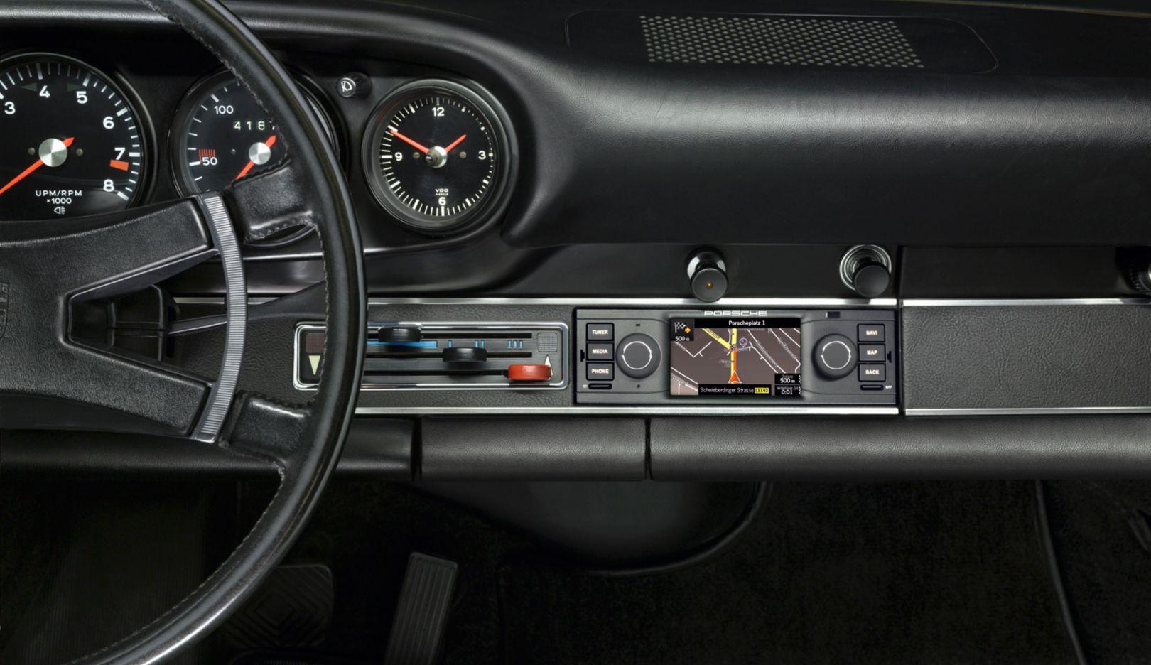 Navigationsradio, Porsche Classic, 2015, Porsche AG