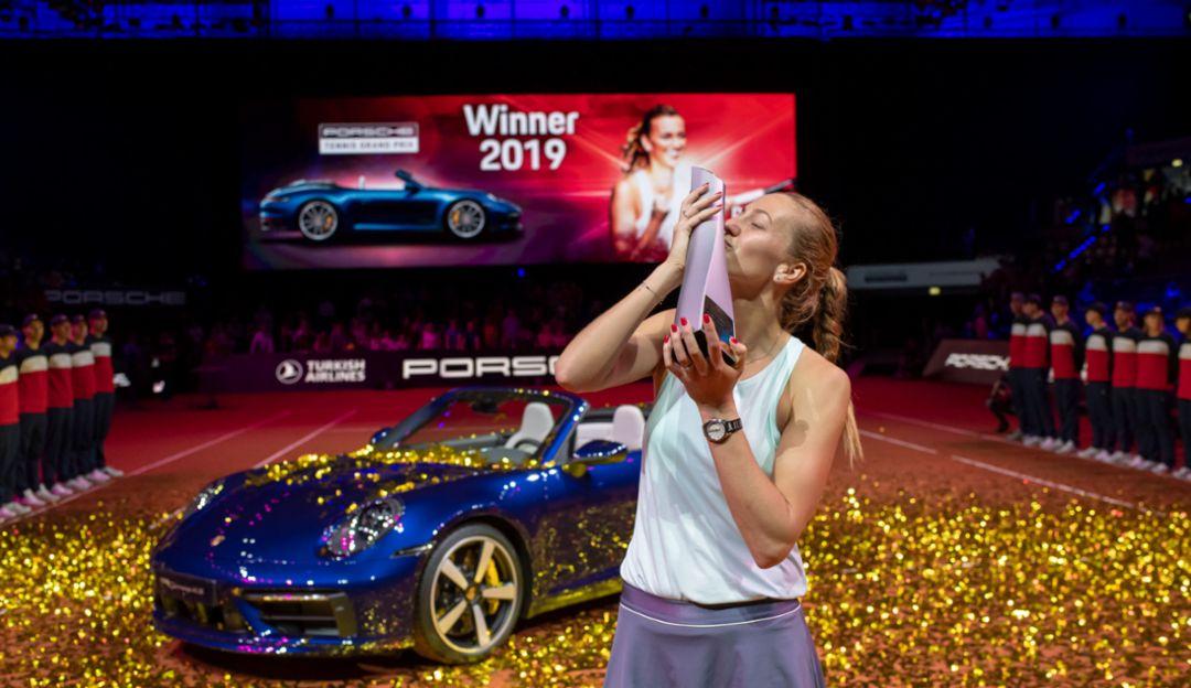 Петра Квитова, Porsche Tennis Grand Prix, Штутгарт, 2019, Porsche AG