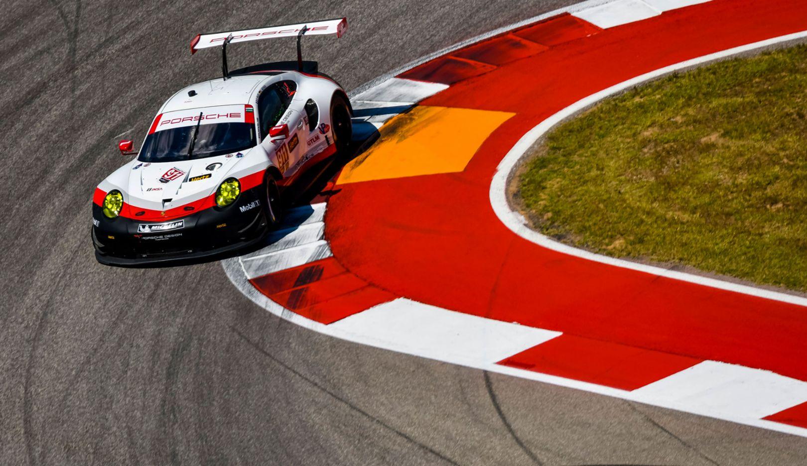 911 RSR, IMSA, Qualifying, Austin, Texas, 2017, Porsche AG