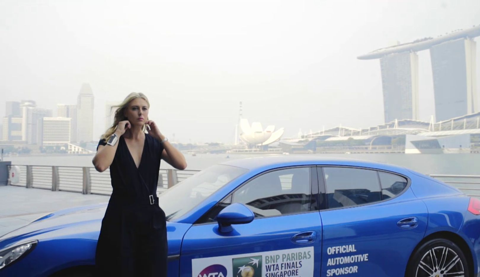 Panamera Edition, Maria Sharapova, Porsche-Markenbotschafterin, 2015, Porsche AG