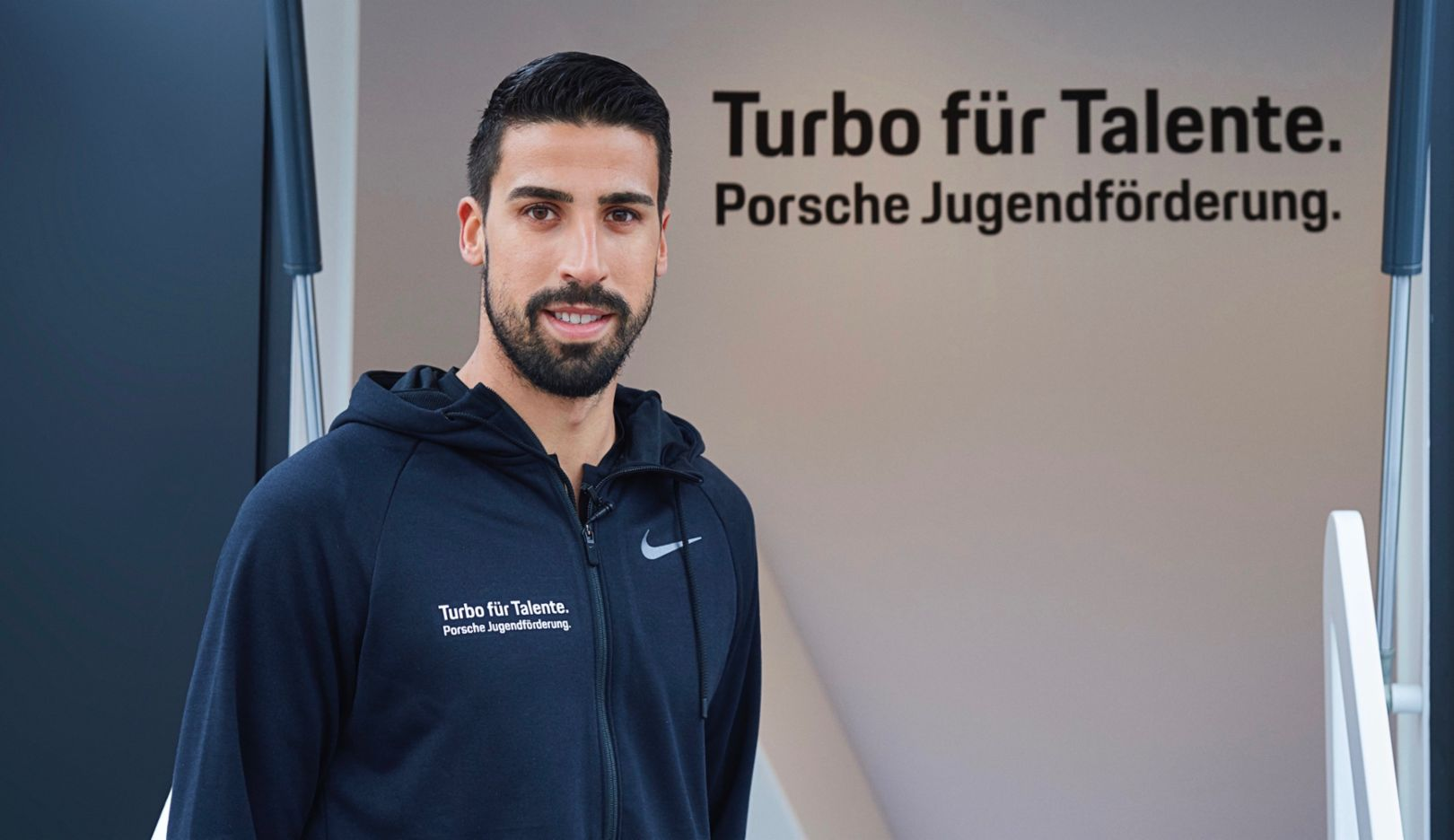 Sami Khedira, 2018, Porsche AG