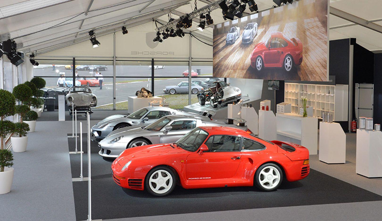 959, Carrera GT, 918 Spyder, Oldtimer Grand Prix 2015, Porsche AG