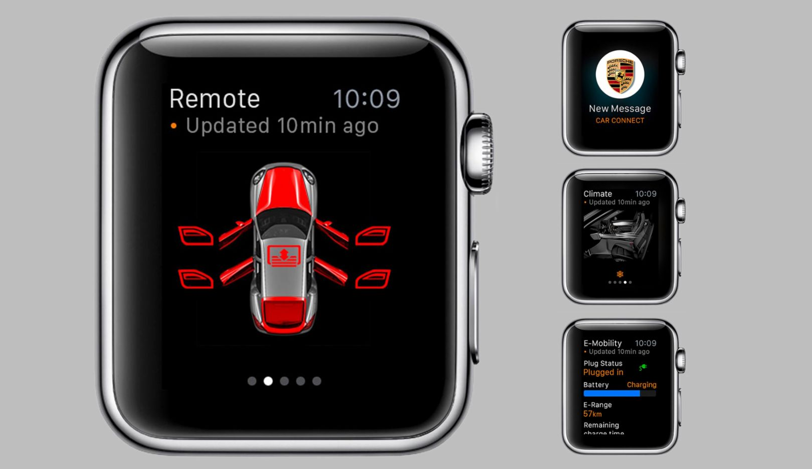 Porsche Connect Apple Watch, 2015, Porsche AG